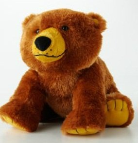 Eric Carle Brown Bear Brown Bear What Do You See Brown Bear Plush Stuffed Animal Toy Kohls Cares from Kohl's Cares