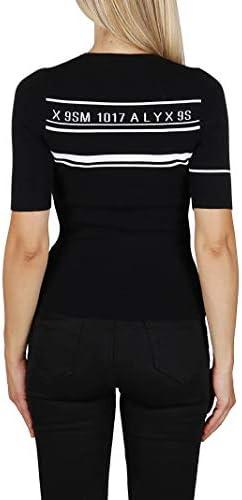ALYX Luxury Fashion Donna AAWKN0074YA01MTY0001 Nero Viscosa Maglione | Autunno-Inverno 20