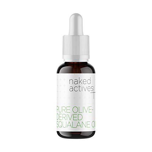 Naked Squalane Oil. 100% Pure Olive-Derived. Topical Serum for Skin Damage Repair. (1 Fl Oz) ()