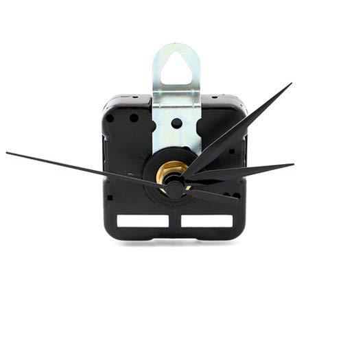 (Gager Quartz Clock Movements Mechanism Parts, 3/25 Inch Maximum Dial Thickness, 6mm Thread shaft length, 12mm Total Shaft Length)