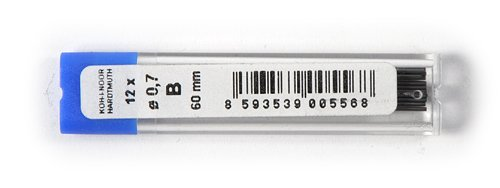 KOH-I-NOOR-Mine in grafite diametro: 0,7 mm, per matita meccanica B 60 mm 416200B007PK