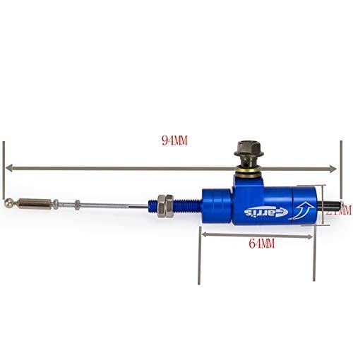 XuBa Universal Clutch Master Slave Cylinder Hydraulic Clutch Brake Pump Tool blue: