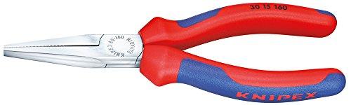 Knipex 30 15 190 alicate - Alicates (Alicates de punta fina, Acero, Blue/Red)