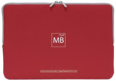 Tucano Elements Second Skin custodia per MacBook Pro 15 Red
