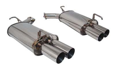 (Megan Racing MR-ABE-IM05 Axle Back Exhaust )