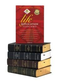 Life Application Bible/New International Version/Burgundy Bonded Leather