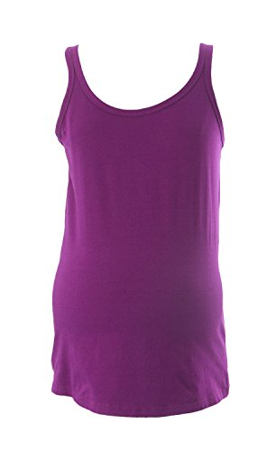Mothers en Vogue Maternity Women's Chic Strappy Tee Small Purple - Vogue Coupons