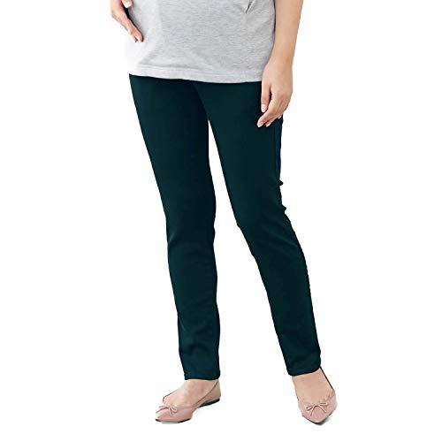 [ベルメゾン] 産後 兼用 マタニティ スキニー パンツ ブラック系 サイズ:マタニティL 股下(cm):65