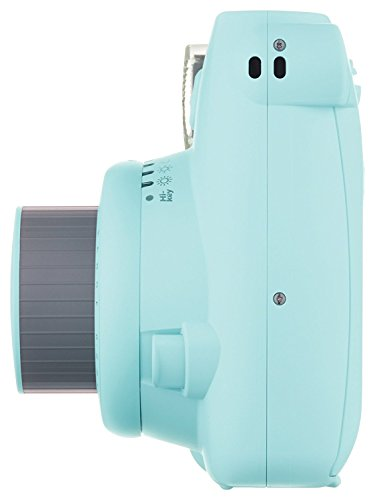 Fuji Instax Mini 9 + Carry Case + Rechargeable AA Batteries & Charger + Instax Mini Film (40 Sheets) (Ice Blue) by K&M (Image #3)