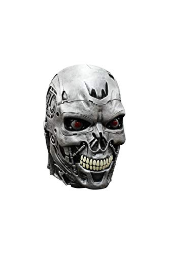 (Terminator Endoskull Mask Adult Costume for Halloween)
