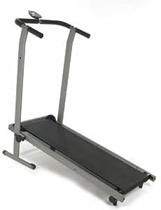Stamina InMotion Manual Treadmill (Pewter Grey, Black) from Stamina
