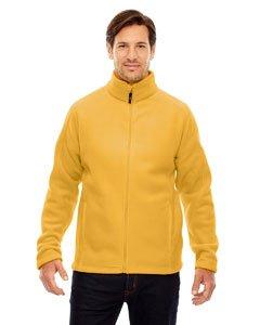 Core 365 Mens Journey Fleece Jacket (88190)- Campus Gold 444,X-Large