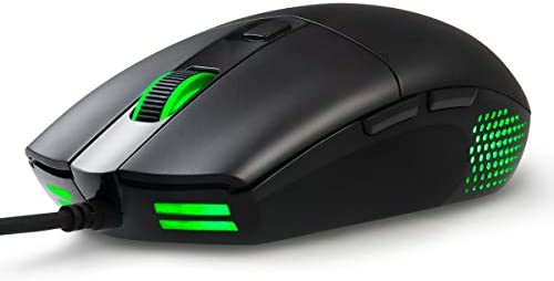 ABKONCORE A660 Gaming Mouse Wired [10000 DPI] Computer Mice for Laptop8 Programmable Buttons RGB Backlight Adjustable DPI Comfortable Grip Mice for Laptop PC MacWindows 7/8/10