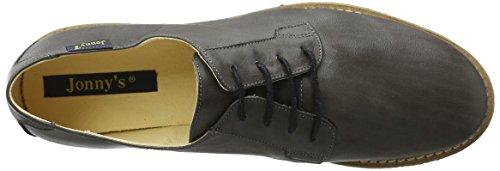 Jonny's Nerissa, Zapatos de Cordones Derby para Mujer Grau (GRIS OSCURO)