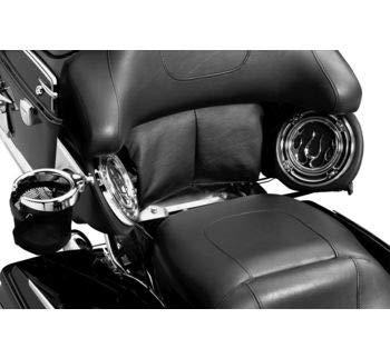 Kuryakyn Black Pad and Filler Panel Kit for Harley 1997-2013 FLH Models Equipped with Kuryakyn Adjustable Tour-Pak - Panel Black Filler