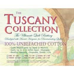 - Hobbs Tuscany Quilt Batt Unbleached Cotton Queen