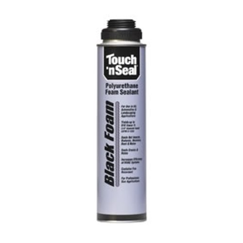 Touch N Seal Black Polyurethane Gun Foam 12 Count Case - 4004529813