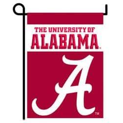 "University of Alabama - 13"" x 18"" NCAA 2-Sided Garden Banner"