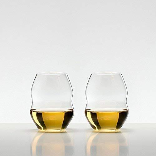 Riedel 0450/33 Swirl Wine Glass, Set of 2, Clear