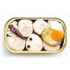 Huevas de merluza en aceite de oliva picantes 120 g: Amazon.es: Alimentación y bebidas