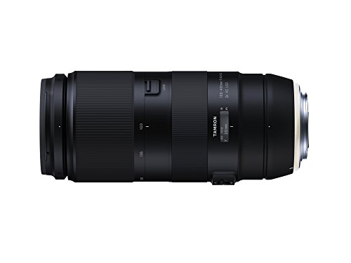Tamron 100-400mm F/4.5-6.3 VC USD Telephoto Zoom Lens for Canon Digital SLR Cameras (6 Year Limited USA Warranty)