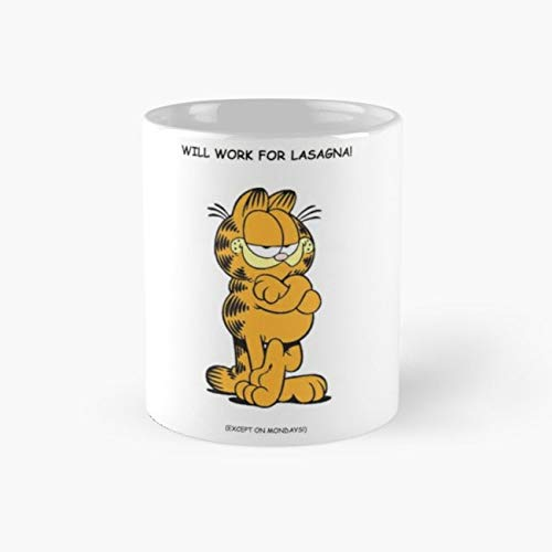 Classic Garfield Humour Mug garfield Tea Cups, 11 Ounce Ceramic Mugs, Perfect Novelty Gift Mug, Funny Gift Mug, Tea Mugs, Funny Coffee Mug 11oz -