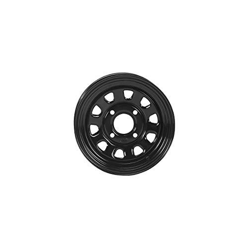 ITP 16-18 Yamaha YXZ1000R Delta Steel Wheel (Front Wheel / 4/110 5+2 14x7) (Black) (Itp Wheels Atv)