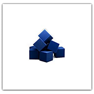 "Foam Pits Cubes/Blocks 108 pcs. 4""x4""x4"" Blue (1536) Flame Retardant Pit Foam Blocks For Skateboard Parks, Gymnastics Companies, and Trampoline Arenas"