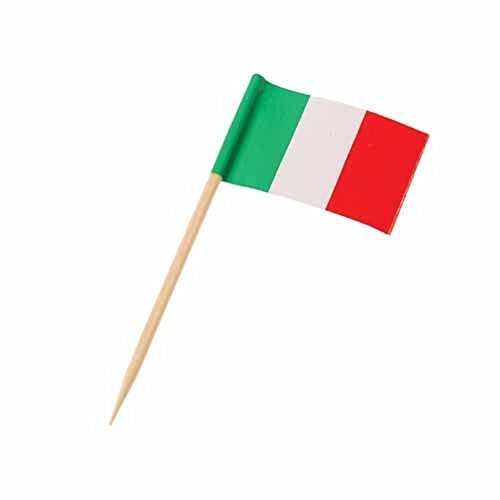 Toy Italian Flag Theme Toothpicks product image