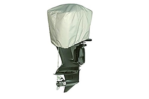 iCOVER 600 Denier Waterproof Heavy Duty Outboard Motor Cover-4 Stroke Motors 2.5 HP to 10 HP-2 Stroke Motors up to 25 HP-M7305A