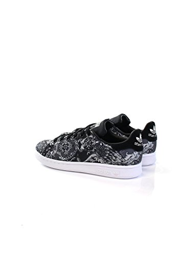 Basses White Smith Baskets Black Running Stan Core Femme Adidas P6OTqxn