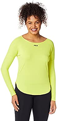 Camiseta Bio, FILA, Feminino, Verde Limao, GG