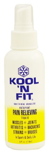 Kool N FIt Pain Fluid (4 -Ounce)