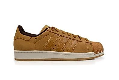 nouveaux styles 1096c fba8e adidas Superstar, Basses Homme - Marron - Messa Dark Brown ...