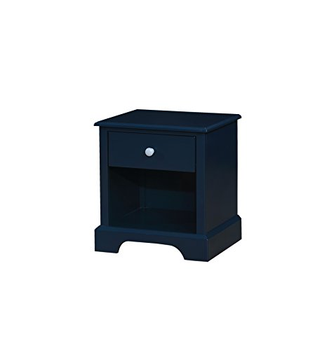 HOMES: Inside + Out IDF-7158BL-N Triton Nightstand, Blue by HOMES: Inside + Out
