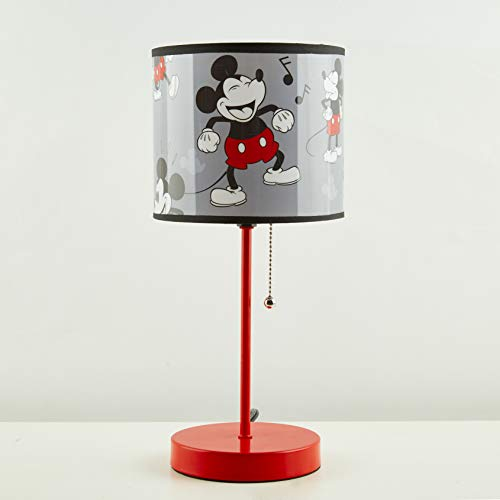Mickey Mouse 90Th Stick Lamp