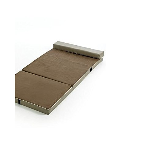 The Sharper Image Fold & Go Memory Foam Slumber Pad sleeping