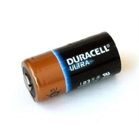DL123A Duracell Ultra Lithium 8 Batteries-CR123A