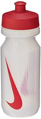 Squeeze Big Mouth Water Bottle, 650Ml, Branco/Vermelho