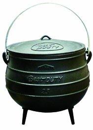 Best Duty Cast Iron Potjie Pot Size 25