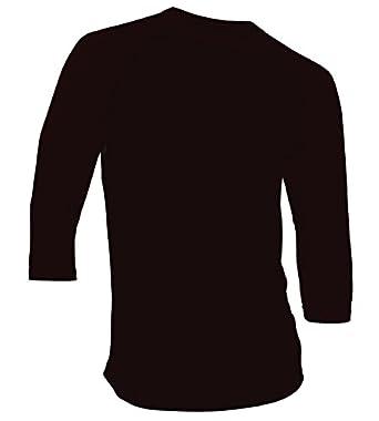 Amazon.com: Men's Plain Raglan Shirt 3/4 Sleeve Athletic Baseball ...