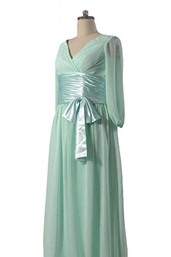 Dress DaisyFormals Bridesmaid 52 Sleeves W Chiffon black Long BM253143 Long FFnxrt