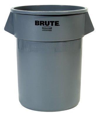 Rubbermaid Mehrzweck-Behälter - Inhalt 167 Liter weiß - Konischer Behälter Kunststoffbehälter Kunststoffstapelbehälter Mehrweg-Behälter Mehrzweckbox Mehrzweckboxen Kunststoff-Sstapelbehälter