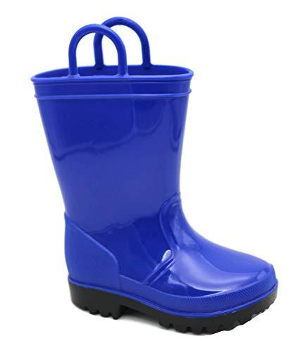 SkaDoo Royal Blue Kids Rain Boots 10 M US Toddler
