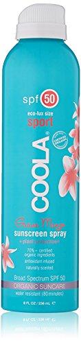 Coola Eco-Lux SPF 50 Sunscreen Spray-Guava Mango, 8 oz