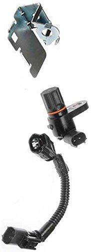 APDTY 081135 ABS Anti-Lock Brake Speed Sensor, Wire Harness & Shield Rear Diff Mounted 1998-2005 Dodge Ram Pickup or Van 98-02 Durango 98-04 Dakota Replaces 56028187AE 56028187AD 5016133AA (Durango Speed Sensor)