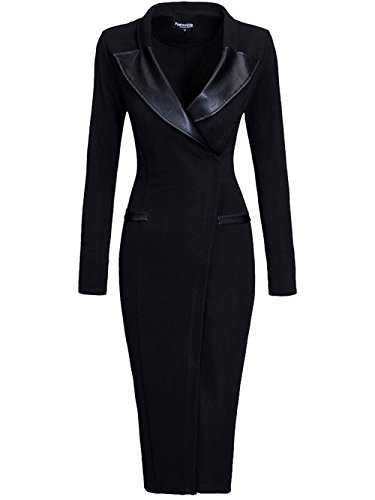 5x leather dress - 8