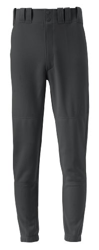 Mizuno Youth Premier Players Baseball Pant, Black, Youth Small