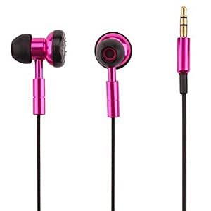 M.M In-Ear Stereo Headphones for Mp3, CD, VCD, MD , Black