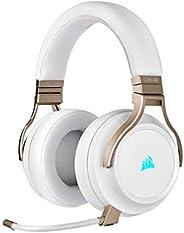 Corsair Virtuoso RGB Wireless Gaming Headset - High-Fidelity 7.1 Surround Sound w/Broadcast Quality Microphone
